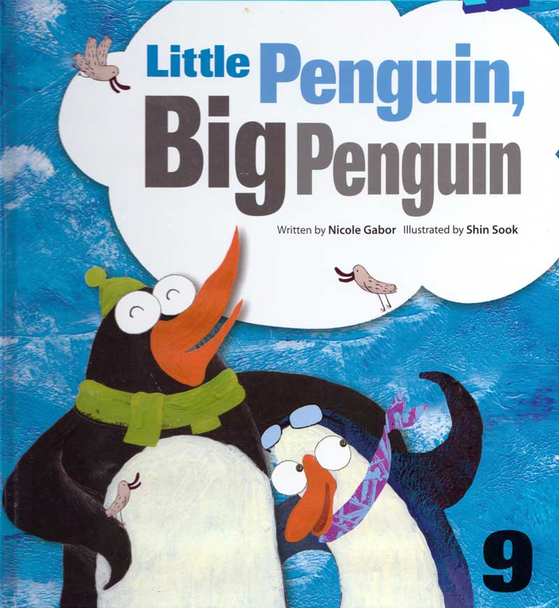 Little Penguin, Big Penguin cover art